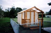 8x1 6storage shed with porch