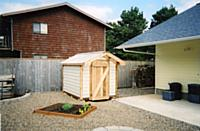 Custom order garden shed/playhouse